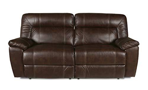 New Classic 20-398-30-BRW Thorton Dual Recliner Sofa, Durham Brown