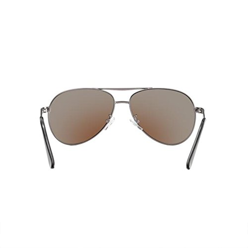 Lunettes Sunglasses ice blue Personality Pour Black Polarized Driving Couleur gray Gun Retro Hommes HONEY X4Owq77