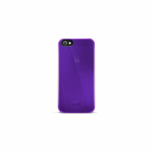 - iSkin Solo Case for the iphone 5/5S- Retail Packaging-Purple