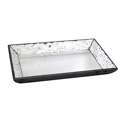 A&B Home 30350 Glass Tray, 19.5 by 13 by 2-Inch