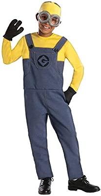 Gru, Mi Villano Favorito - Disfraz de Minion para niño, infantil 5-7 años (Rubies 886973-M)