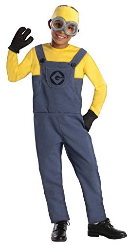 Despicable Me 2 Deluxe Dave Minion Costume, Small]()