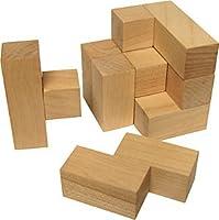 Natural Soma Cube - Made in USA
