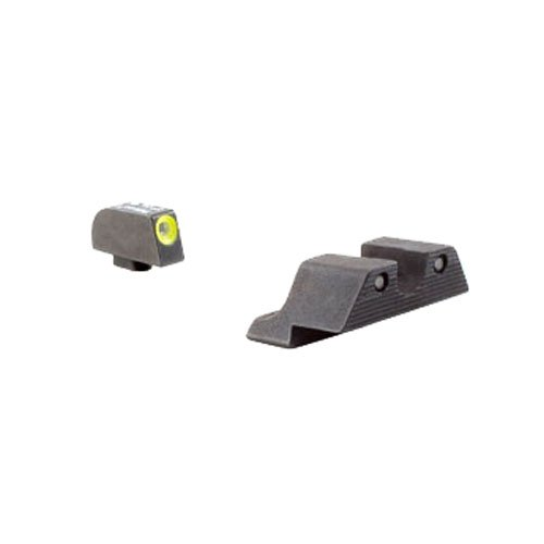 Blade Combo Green (Trijicon HD Night Sight Set with Yellow Front Outline for the Glock 42/43)