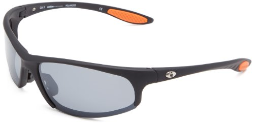Ironman Strong Semi-Rimless Sunglasses,Matte Black Rubberized,156 - Glasses Ironman