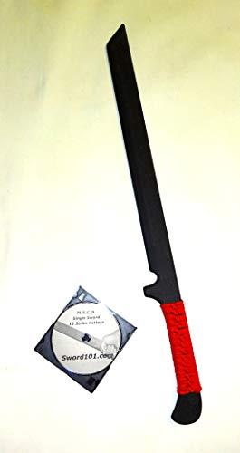 Ninja Practice Sword Training Swords Warrior Katana Custom w/DVD ()
