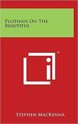 Book Plotinus on the Beautiful