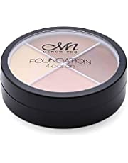 Contour MN Matt 4 colors from Minow and hide dark circles to sculpt and show facial features
