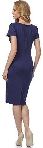 Merry Style Vestido para mujer MSSE0010 Navyazul