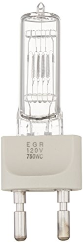 Ushio BC6268 1000282 - EGR - Stage & Studio - T7 - 750W Light Bulb - 120V - G22 Base - (750w Bulb)