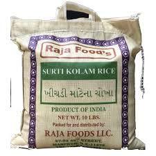 Raja Food's Surti Kolam Rice - 10 lbs