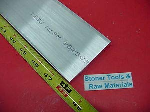 JumpingBolt 1/4'' X 4'' Aluminum 6061 Flat BAR 48'' Long T6511 New Plate Mill Stock 4' .25''x 4'' Material May Have Surface Scratches by JumpingBolt
