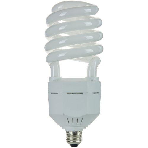 Sunlite SL45/30K 45 Watt High Wattage Spiral Energy Saving CFL Light Bulb Medium Base Warm White Spiral Energy Saving Bulb
