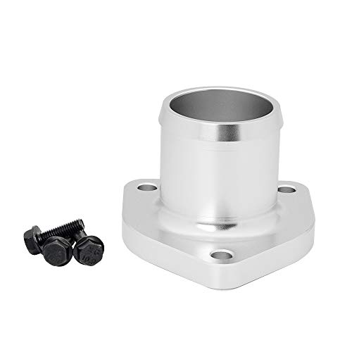 HiwowSport Billet Aluminum Thermostat Housing for 1999.5-2003 Ford Powerstroke 7.3L Thermostat Housing with Leak Proof Seal Silver ()