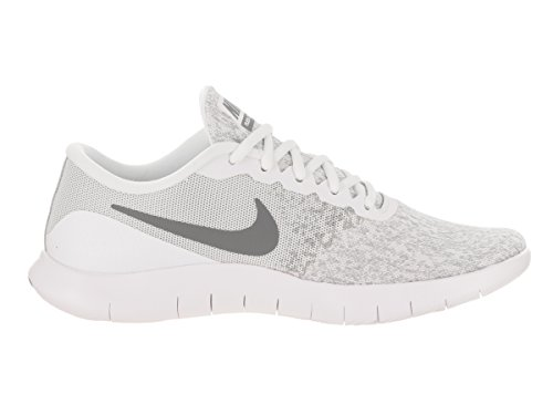 f325a2258eeda Nike Womens Flex Contact Running Shoe Whitecool Grey-metallic Silver