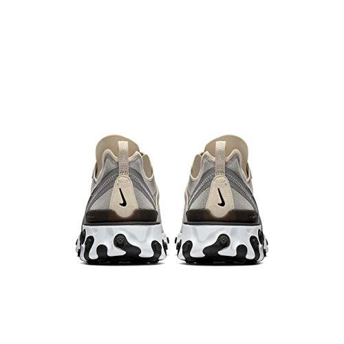 Nike Element Noir blanc React gris 55 Noir 88rx5Fawq