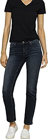 Calvin Klein Women's Straight Leg Denim Jeans, Outerspace, 24