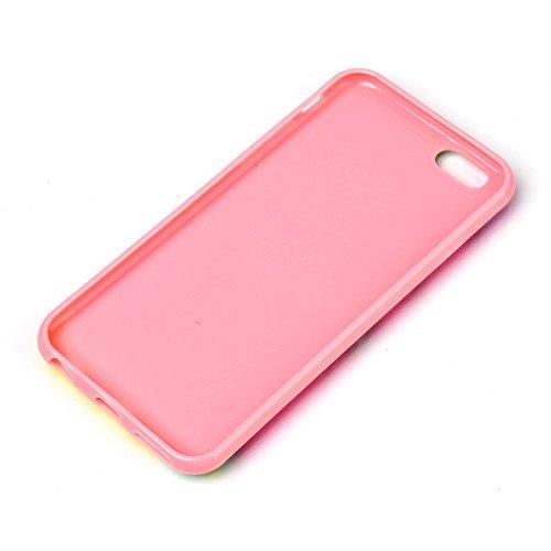 Apple iPhone 6Plus/6S Plus Étui Housse Case Beauty Design multicolore decui Multicolore Gel/TPU Coque