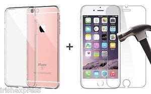 Apple iPhone 6/6S Vetro temperato H9+/Pellicola proteggi schermo/vetro/vetro/Pellicola Protettiva di VETRO facile da applicare, C è la pulizia e panno per la pulizia nella confezione. + con Crystal