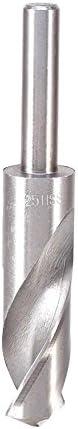 25mm Tip Durchmesser 4241HSS High Speed Stahl Schmiede Twist-Bohrer Bit 1/2gerade Schaft Bohren Loch Werkzeug