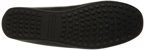 Rockport Mænds Bayley Venetianske Ii Slip-on Dagdriver Sort UIH0NAk
