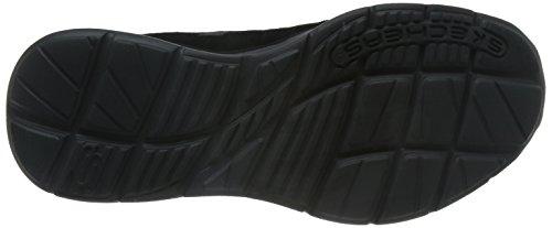 Skechers Mens Glides-corsen Scarpa Casual Nera