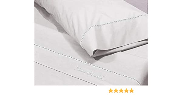 Pierre Cardin Juego de sábanas Arcadia 160-Color Blanco, Algodón ...