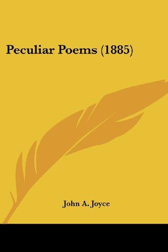 Peculiar Poems (1885)