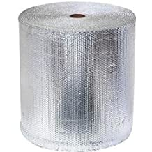 RadiantGUARD 16-inch by 125 linear feet (166 square feet) Aluminum Double Bubble Wrap Pack Metal Building Vapor Barrier Reflective Insulation Roll - BLOCKs 94% Radiant Heat and Reduces Condensation
