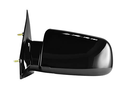 Driver Side Painted Black Side View Mirror for 1988-1988 GMC Astro Van, Chevrolet Astro, GMC Safari, 1988-1989 Pontiac -