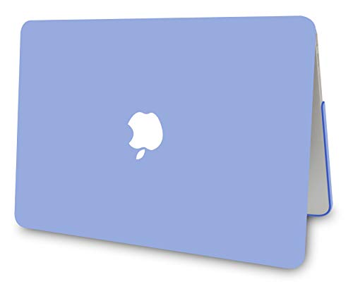 """KECC Laptop Case for Old MacBook Pro 13"""" Retina (-2015) w/Keyboard Cover Plastic Hard Shell Case A1502/A1425 2 in 1 Bundle (Pale Blue)"""