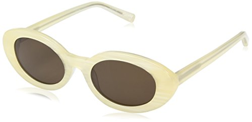 Elizabeth and James Women's Mckinley Round Sunglasses, Sunshine, 51 - Sunglasses Elizabeth