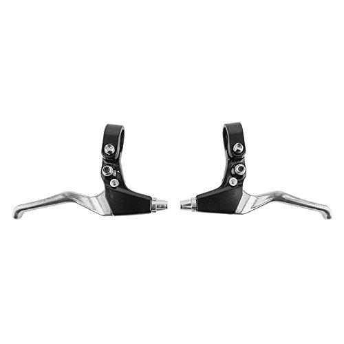 Sunlite Locking Brake Levers, 22.2mm Clamp, Black/Silver