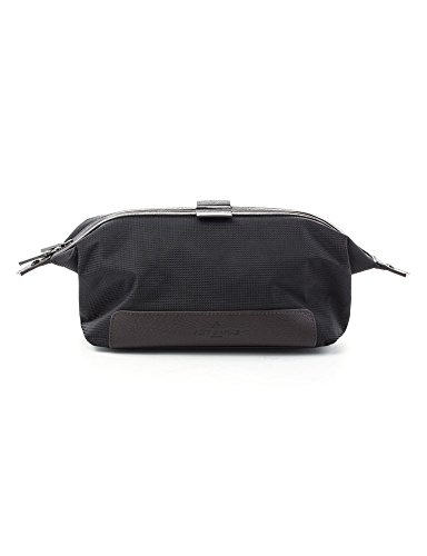 Jeff Wash Bag Textured Banks Black fqRf0w