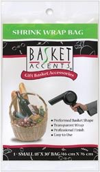 Basket Accents Shrink Wrap Bags - 9