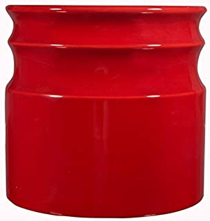 Home Essentials Beyond 66379 Turino Rings Utensil Crock 7.5 D inch , Red (B017ID4OWG) | Amazon price tracker / tracking, Amazon price history charts, Amazon price watches, Amazon price drop alerts