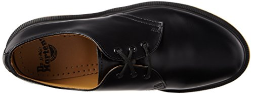 smooth 1461 Flats Unisex Up Lace Adults' Dr Black Martens 8pOq66