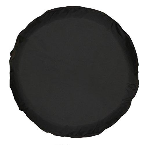 Universal Spare Tire Cover Black (18 inch) - 18 Inch Rain Cover