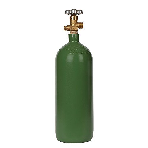 Steel Oxygen Cylinder with CGA540 Valve - 20 cu. ft.