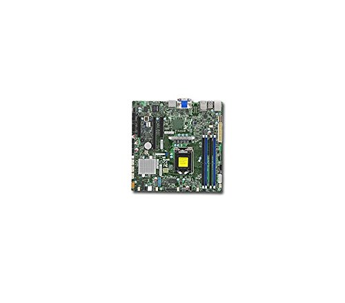 Ethernet Motherboard Supermicro (Supermicro Micro-ATX Micro ATX DDR4 Motherboards X11SSZ-QF-O)