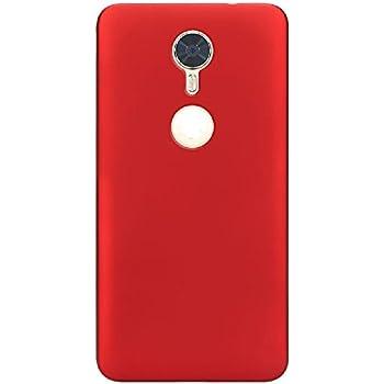 Blu Vivo 8 Case, ZLDECO Ultra Slim Shock Proof Matte Hard Skin Case Cover Protect for Blu Vivo 8 5.5 Smartphone (Red)
