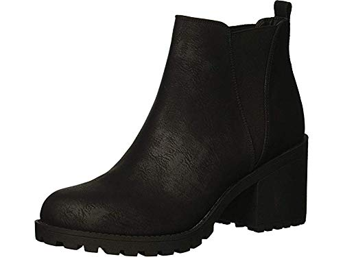 Dirty Laundry by Chinese Laundry Women's Lisbon Ankle Boot, Black, 8 M US