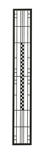 壁飾り 外壁 ウォールアクセサリー 亜鉛鋼板(焼付塗装) シャドーピクチャー ストレートタイプ デザインB 取付ピン付属 B0793R584S