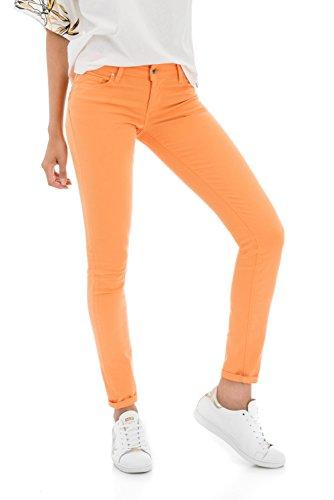 Tela Skinny Wonder Up Push Colorata Arancio In Salsa 6qXS8RB
