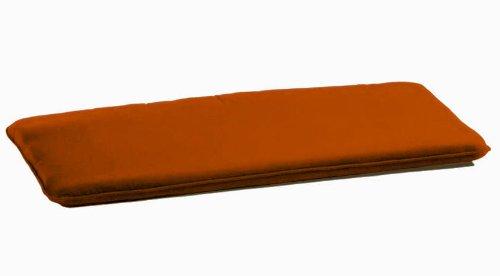 Cojin Rectangular A Medida para Banco y Banquete con 2 Cordones Antideslizante (Pack de 2 Unidades) - Made In Italy + Hechos a ManoMedidas 50X90X3 Cm: ...