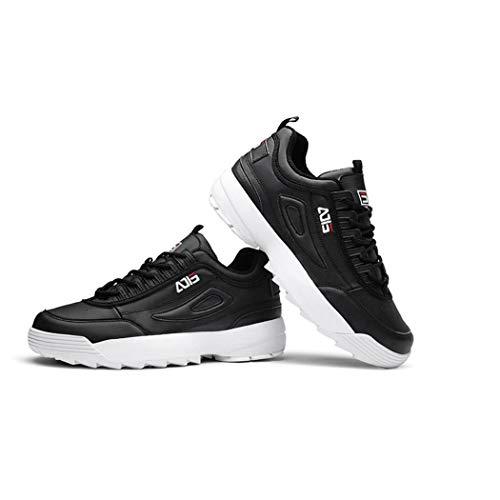 Al Zixuap Hombres Deportes Wild Grueso Casual La 40 Fondo Otoño a Ins Cómodo Libre Fashion De Hombre Los Aire Marea Running Para Zapatos Viejo HwrISH