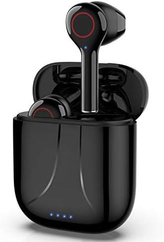 AHUTORU Bluetooth 5.0 Wireless Earbuds with Cha...