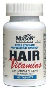 Mason naturelles cheveux formule multivitaminique extra-fort comprimés - Ea 90