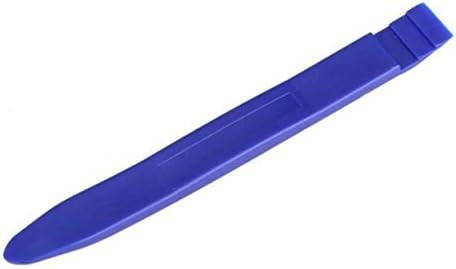 カーオーディオ分解ツール2個セットセントラルコントロールドア内部の取り外し2個セットCd分解ツール2個セット-ブルー
