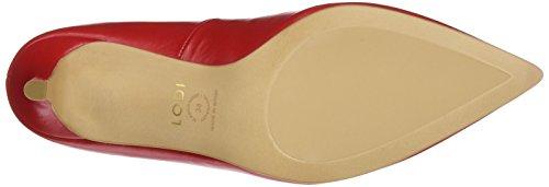 lodi Edurne2, Zapatos de Tacón con Punta Cerrada para Mujer Rojo (Sweet Tristan)